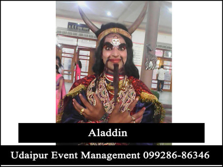Aladdin-CartoonCharacter-Jadugar-KidsBirthdayParty-Udaipur-Rajasthan-India
