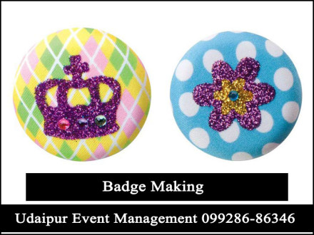 BadgeMakingActivity-ArtandCraft-KidsBirthdayPartyGame-Udaipur-Rajasthan-India