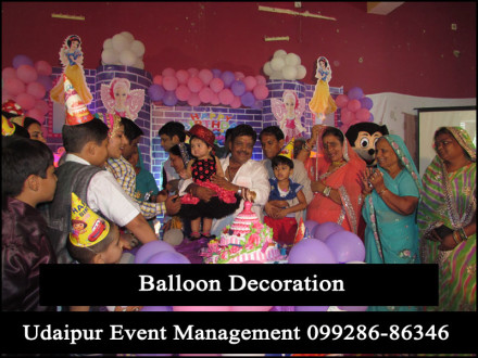 BalloonDecoration-GirlsBoys-ThemeBirthdayParty-EventOrganizer-Udaipur-Rajasthan-India