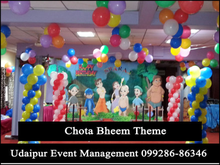ChotaBheemTheme-BirthdayParty-BalloonDecoration-Udaipur-Rajasthan-India