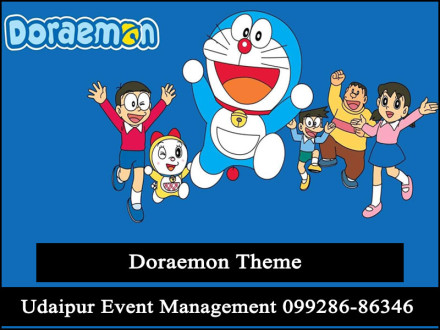DoraemonThemeParty-Decoration-boybirthdayParty-Udaipur-Rajasthan-India