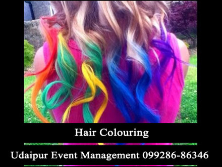 HairColoringActivity-TemporaryHairColorSpray-BirthdayPartygameStallcounter-Udaipur-Rajasthan-India