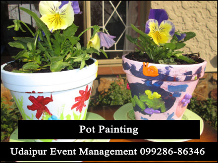 PotPaintingActivityStall-ChildrensArtCrafts-BirthdayParty-PotColoring-Udaipur-Rajasthan-India