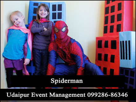 Spiderman-Superhero-CartoonCharacter-KidsBirthdayParty-Event-Udaipur-Rajasthan-India