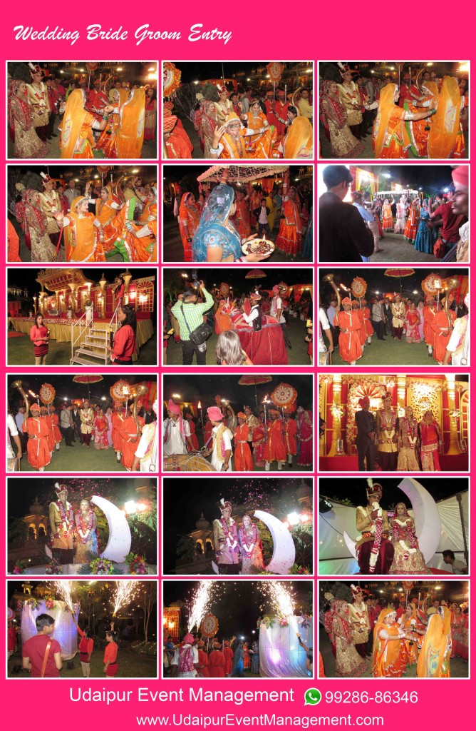 bride-groom-enrty-kachhighodi-tent-stagesetup-welcomegirl-revolvingstage-udaipur