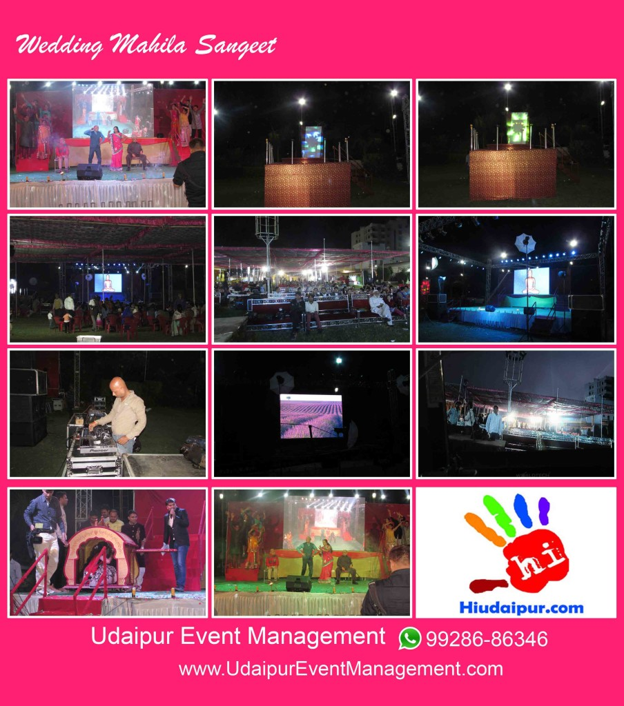 sahilaSangeet-ledwall-djsetup-tent-stage-Revolvingstage-bride-groom-entry-anchor