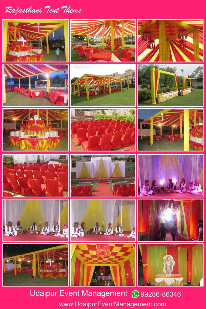rajasthani-tent-theme-in-wedding-udaipur-rajasthan-india : tent stage decoration - memphite.com