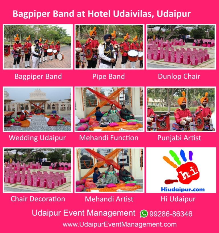 Bagpiperband-Tentdecoration-Mehandiartist-Cateringservices-armyband-Udaipur-Rajasthan