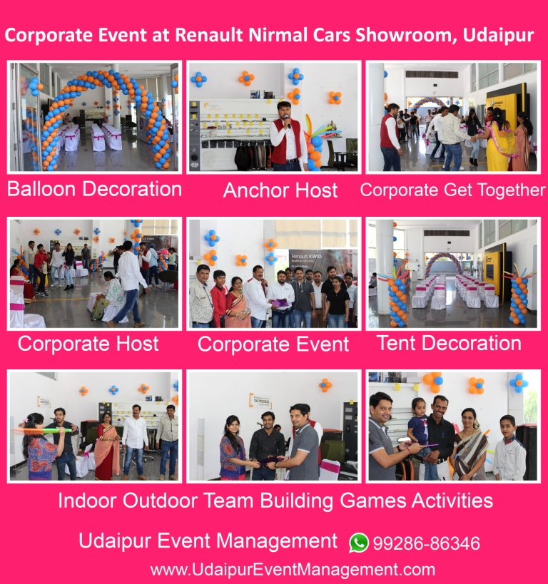Corporateevent-Balloondecoration-Anchor-Games-giftdistribution-Udaipur-Rajasthan