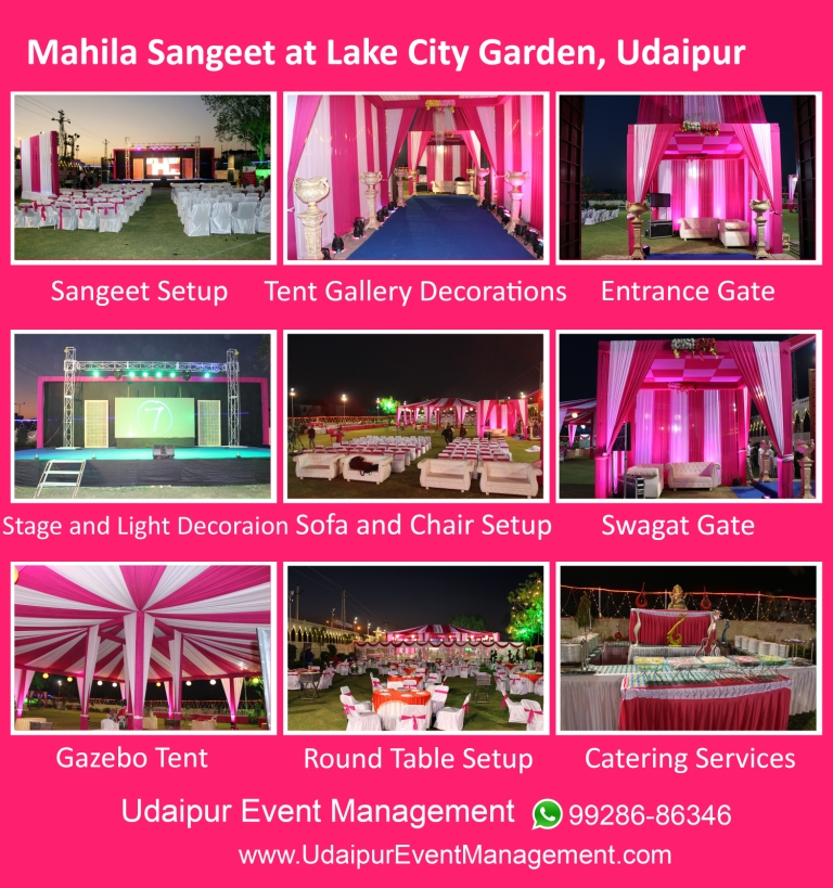 Stagesetup-Tentgallerydecoration-Swagatgate-Cateringservices-Udaipur-Rajasthan
