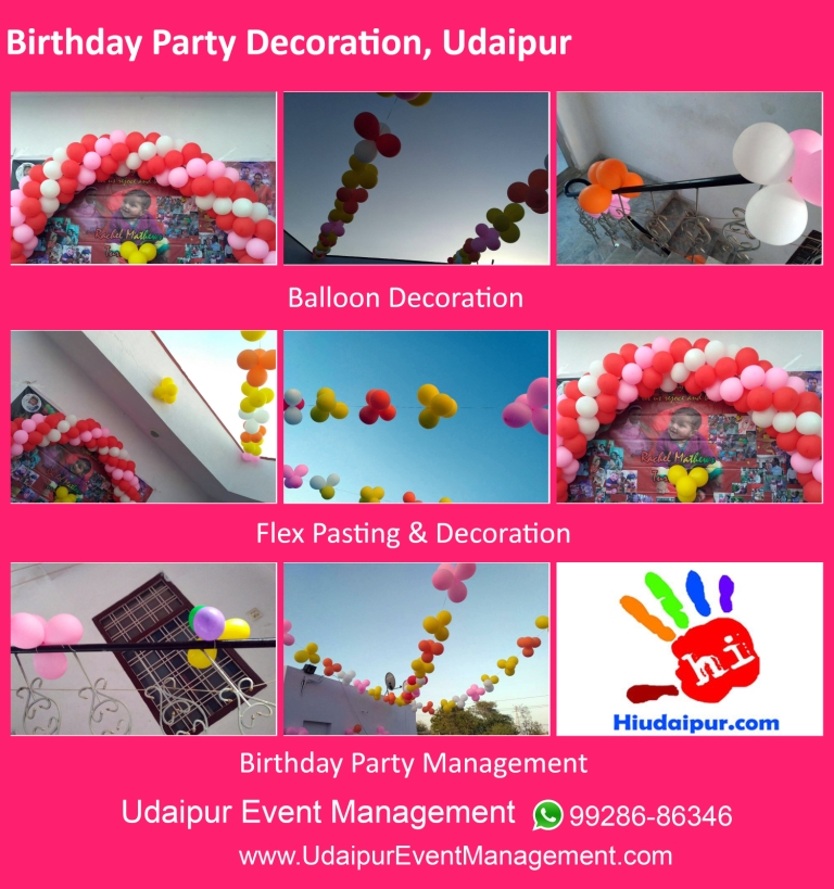 Birthday-Party-Balloon-Decoration-Flex-Pasting