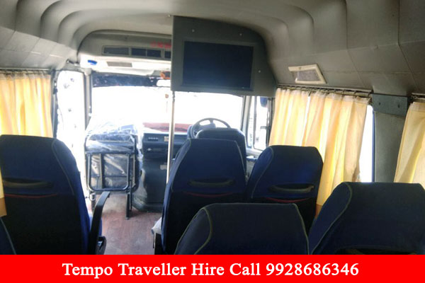 TempoTravellerHireUdaipur-14SeatersCoachbooking-CarRentalAgency